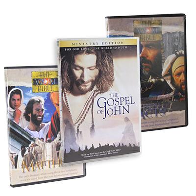 John-Acts-Matthew-set