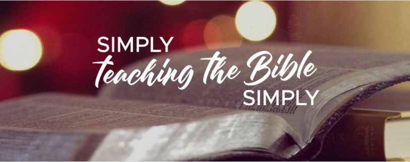 SIMPLY teaching the Bible SIMPLY