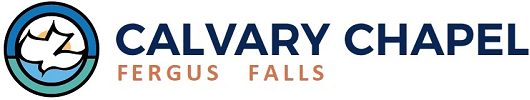 Calvary Chapel Fergus Falls - A Church that's all about JESUS! Logo